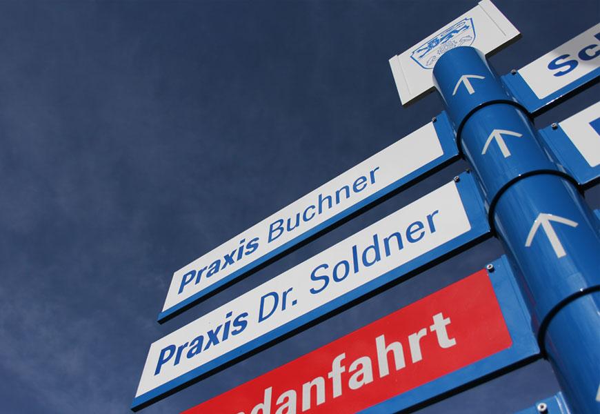 Klinik Schongau Leitsystem