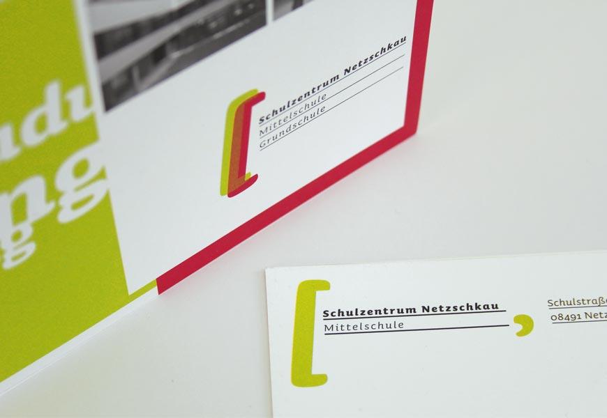 schramke design - Schulzentrum Netzschkau Leitsystem