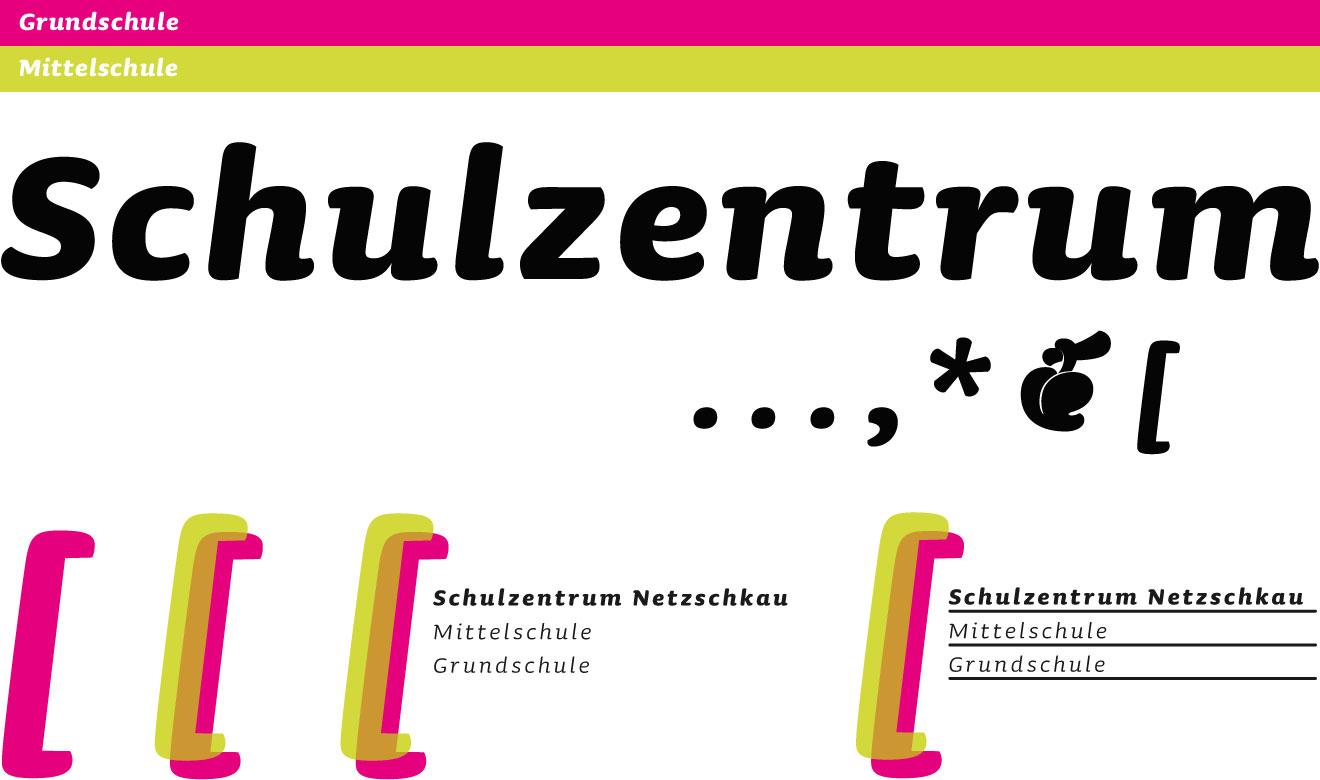 Logoentwicklung, Typografie und Farben