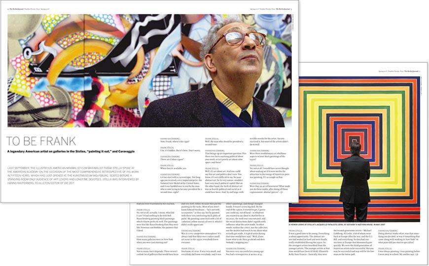 Doppelseite des Berlin Journals