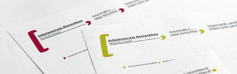 Leitsystem Schulzentrum Netzschkau