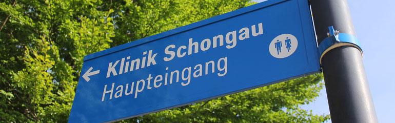 Leitsystem Klinik Schongau